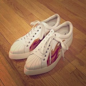 Jeffrey Campbell Hot Rod Sneakers | Size 10
